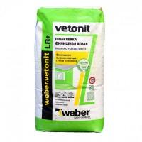 Шпатлевка финишная полимерная Weber.Vetonit LR+ белая 25 кг